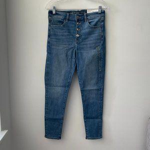 American Eagle Women's Hi-Rise Jegging Crop Jeans